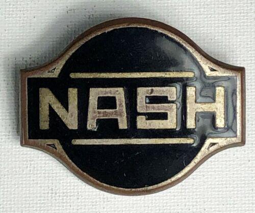 Vintage Nash Automobile Emblem Circa 1930 Radiator Badge