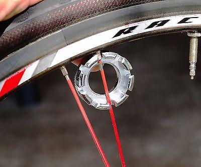 """Bicycle Spoke Wrench TOOL Green .130/"""" 14GNipple Cruiser Fixie Bike BMX MTB Wheel"""