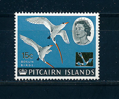 PITCAIRN ISLANDS 1967 DEFINITIVES SG76 15c on 10d (BIRDS)  MNH