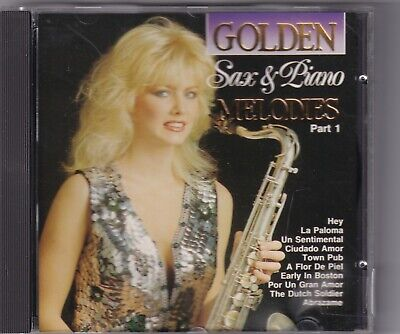 CD : Golden Sax & Piano Melodies Part 1