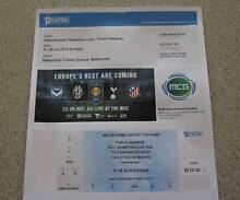 Tottenham Vs Atletico at MCG 29 July - 2 Tickets, Level 2, Row B Melbourne CBD Melbourne City Preview
