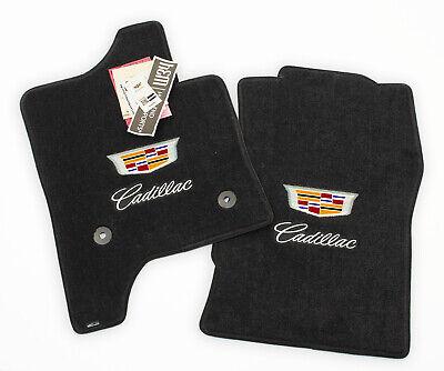 NEW Cadillac Escalade Floor Mats Jet Dual Cadillac Logos ULTIMAT 2PLY - IN STOCK
