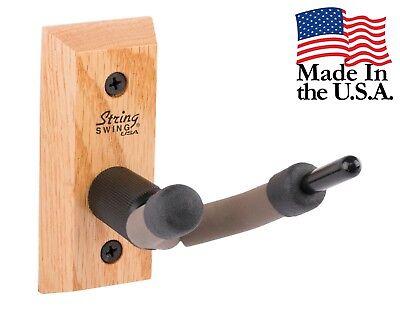 String Swing Oak Hardwood Home & Studio Violin Hanger CC01V-O USA Made ()