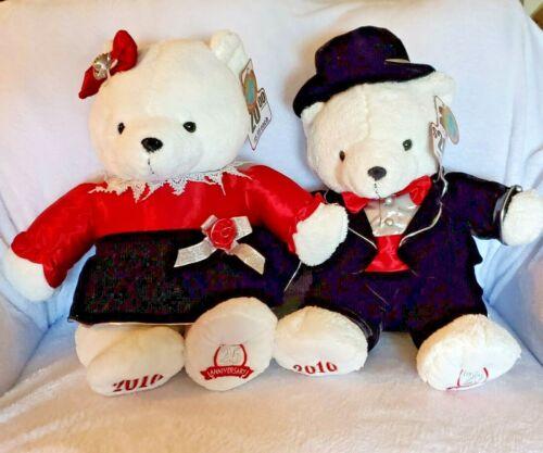 "2010 KMart Christmas Bears 25th Anniversary 20"" Dan Dee"