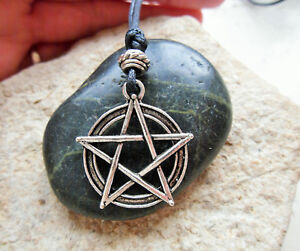 Pentacle Pendant Necklace Pentagram Witch Amulet Pagan Wicca Wiccan Jewellery