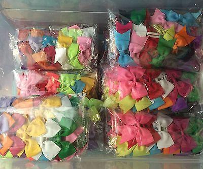 90 Pcs Mix Lots Headband Baby Infant Toddler Girls Hair bow Headwear * 8 Styles