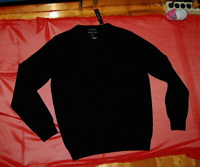 NWT TAHARI crew/V/ zip neck Pure Luxe 100% cashmere sweater heather or textured ()