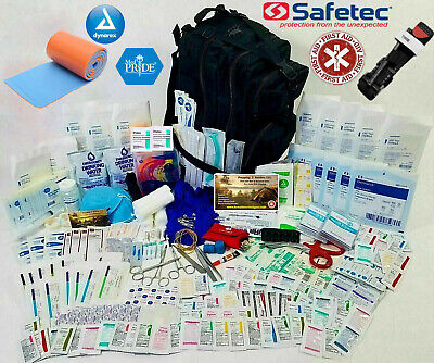 Military Survival Bag Tactical Bug Out Bag First Aid Trauma Kit Emergency IFAK