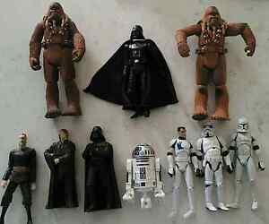 Star wars action figures Darth vader, R2 D2, Chewbacca Hasbro Bayswater Bayswater Area Preview