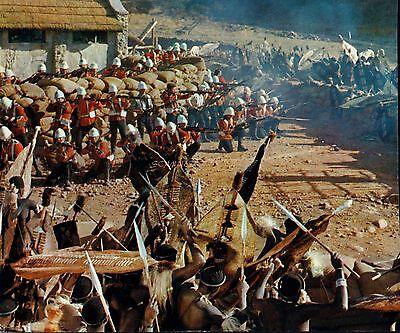 ZULU CLASSIC BRITISH WAR FILM RARE BATTLE PHOTO #2