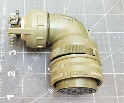 Amphenol 97 Series Plug 20 Contacts Solder Socket Threaded 28-16 C5f1
