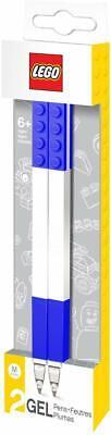 Lego 51503 Gel Pen Ballpoint Set - 2 Pieces - 0.7mm Thickness - Blue