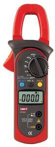 REAL Uni-T UT203 gutes Strom Zangen Multimeter@PinSonne uni-t AC DC clamp UT-203