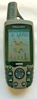 Garmin GPSMAP 60CSx Handheld GPS Receiver Bundle - Car Charger, Friction Mount