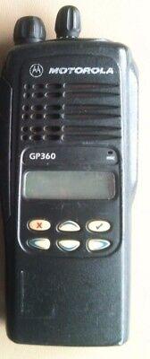 Motorola GP360 UHF 4 W Two-Way Radio (One radio body only) segunda mano  Embacar hacia Mexico