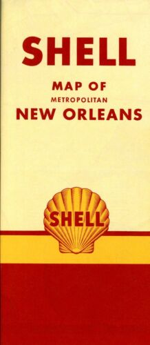 1951 Shell Road Map: New Orleans NOS