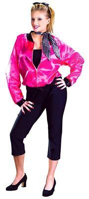 Pink Ladies Costume Women (WOMEN'S PINK LADIES HALLOWEEN COSTUME Sz)