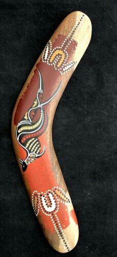 """Australian Handmade 12"""" Returning Boomerang"""