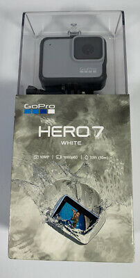 GoPro HERO7 WHITE  10 MP Waterproof 4K Camera Camcorder Go Pro HERO 7 - NIB