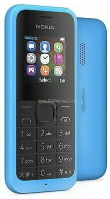 NOKIA 105 BLUE - Unlocked Mobile Phone  ONE YEAR WARRANTY UK SELLER