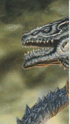 Glow  Born Of The Atom  And Hollywood   Godzilla Card