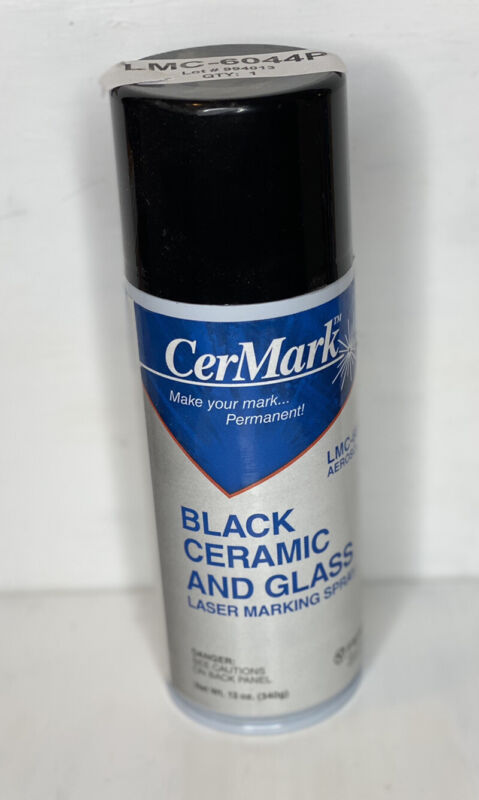 CerMark LMC-6044P Tile & Glass Marking Spray - Black - 12oz