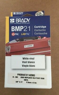Brady Label Maker Cartridge - Bmp 21 - Yellow Vinyl - 38 X 21