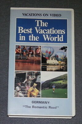 The Best Vacations In The World : Germany The Romantic Road (VHS) VHS (The Best Vhs In The World)