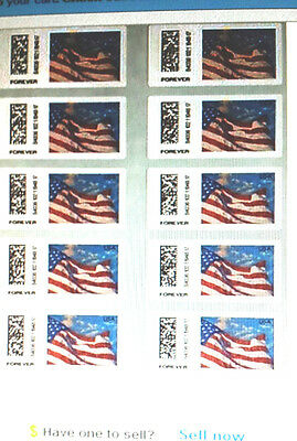 "100  USPS Certified Forever Stamps 10 Sheets of 10 = 100  ""Look Now""  < $41.95 >"
