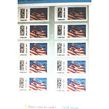 """10 USPS Certified Forever Stamps Sheet or Strips > LOOK > """" Save Now """" < $5.95 >"""