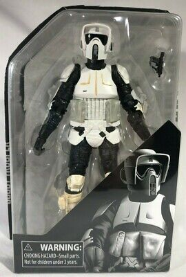2019 Star Wars Black Series Archive Collection Scout Trooper Figure Trimmed Card