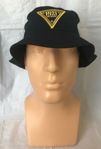 NJSP New Jersey State Police 1921 Navy Bucket Hat THE OUTFIT Embroidered Patch