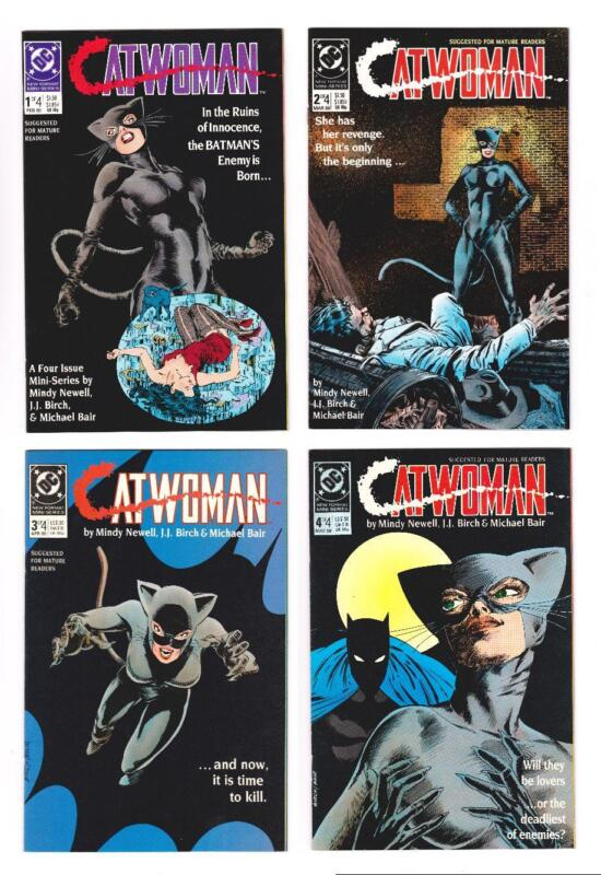 CATWOMAN 4-BOOK