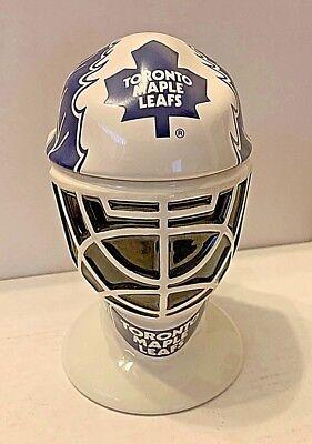 LONGTON Crown Toronto Maple Leafs Goalie Mask NHL The Original Six Tankard RARE ()