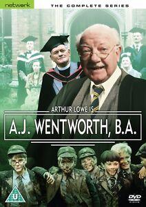 A.J. Wentworth, B.A.: The Complete Series - NEW SEALED DVD - Arthur Lowe (AJ,BA)