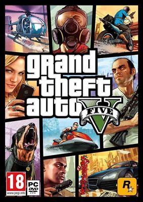 GTA Grand Theft Auto V FIVE 5 PC ROCKSTAR KEY global