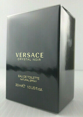 VERSACE CRYSTAL NOIR By VERSACE WOMEN EAU DE TOILETTE SPRAY 1.0 OZ NEW IN BOX