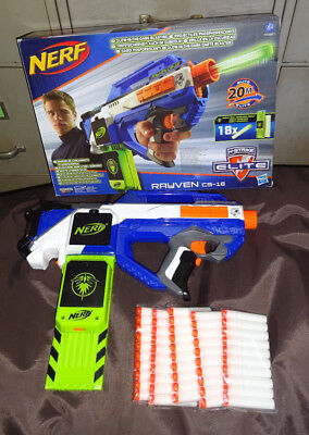 Firefly Spielzeug (Nerf N-Strike Elite Rayven CS-18 Firefly + 50 neue Glowdarts + OVP)