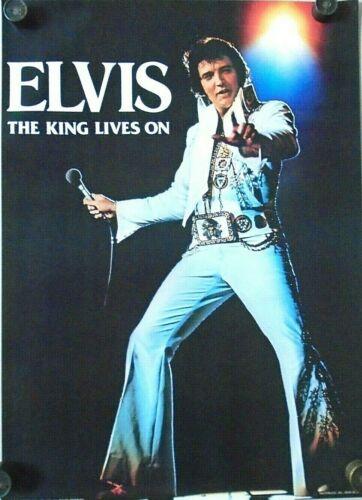 "Elvis Presley / Orig. Vintage Poster - White suit  ""1977"" / 20 X 28"" - New cond."