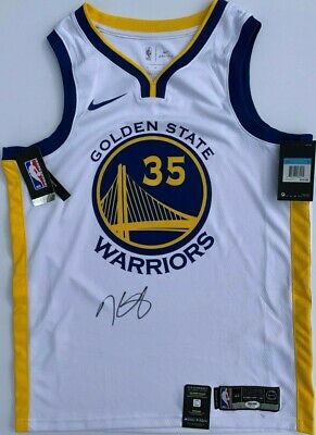 40f2e2be KEVIN DURANT SIGNED AUTOGRAPHED GOLDEN STATE WARRIORS BASKETBALL JERSEY PSA/ DNA