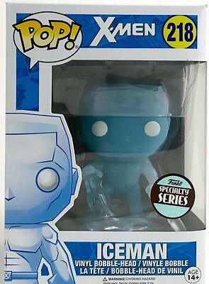 Funko Pop Marvel Heroes X-Men Ice Man Specialty Series Vinyl Action Figure