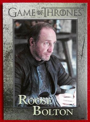 GAME OF THRONES - Season 5 - Card #53 - ROOSE BOLTON - Rittenhouse 2016