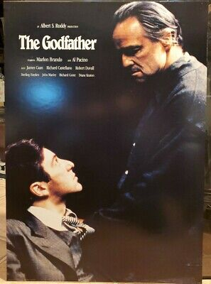 The Godfather Marlon Brando Al Pacino Movie Poster 24 x 34 Pyramid PF 2093