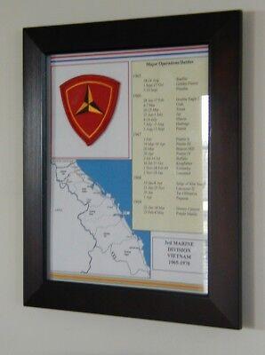 3rd Marine Division, Vietnam, Framed