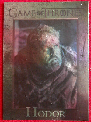 GAME OF THRONES - HODOR - Season 4 - FOIL PARALLEL Card #52