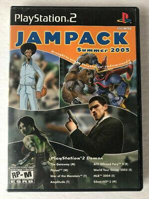 Jampack Summer 2003 Demo Disc - (PlayStation 2) - NTSC-U/C