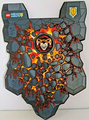 Lego Nexo Knights Foam Shield Lot of 2 Jestro and Power Shield 853507 853508