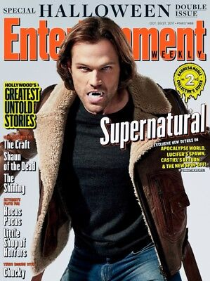 EW Entertainment Weekly NEW 2017 Halloween Supernatural Jared Padalecki Cover](Jared Padalecki Halloween)