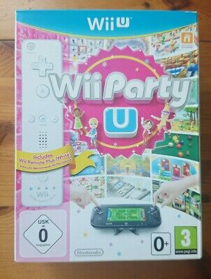 Brand New Wii Party U + Wii Remote Plus Bundle Nintendo Wii U PAL Rare