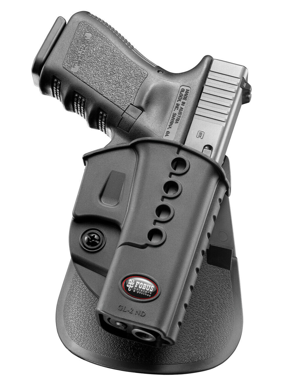 Details about Fobus left hand holster for glock 17/19/22/23/31/32/34/35/41
